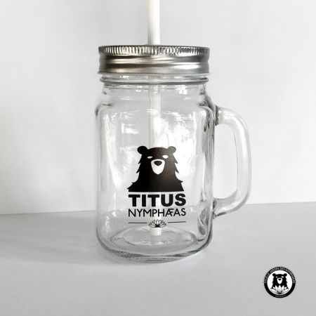 Mason Jar Titus Nymphaeas